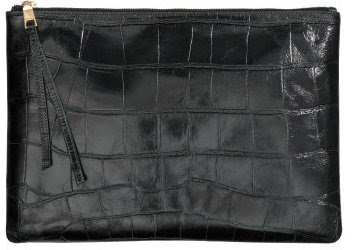 H&M 100% Leather Clutch