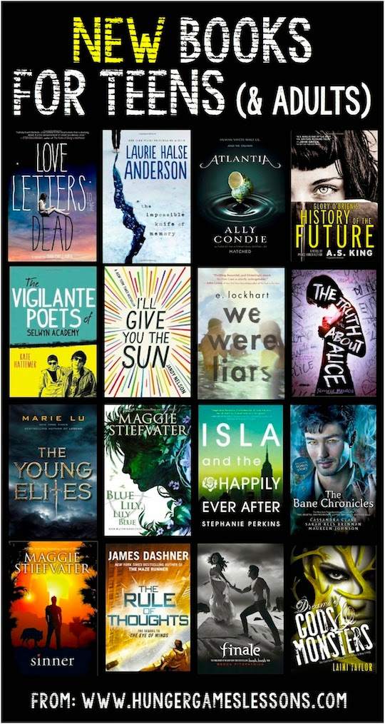 New Books for Teens and Adults - Popular Fiction
