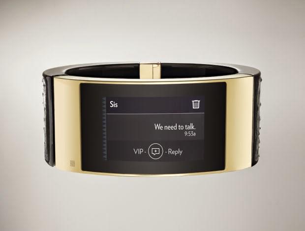 إنتل تطلق ساعة ذهبية ذكية مستقلة عن الهواتف الذكية