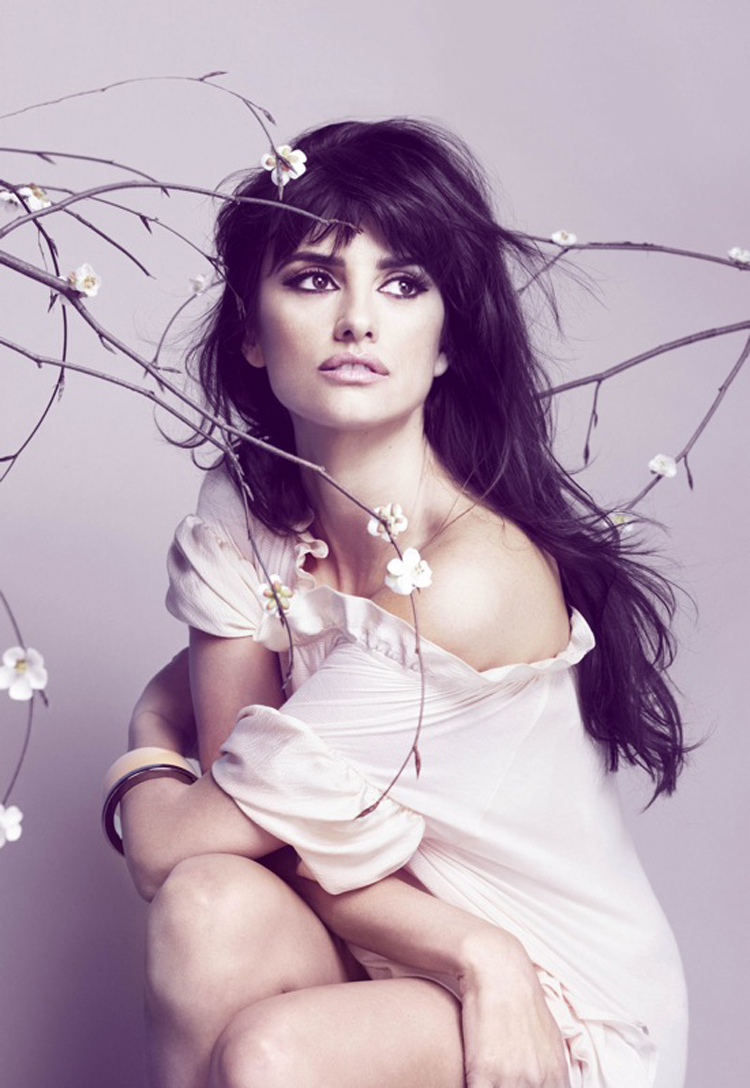 Fashionable Celebrity Hairstyle Penelope Cruz 40
