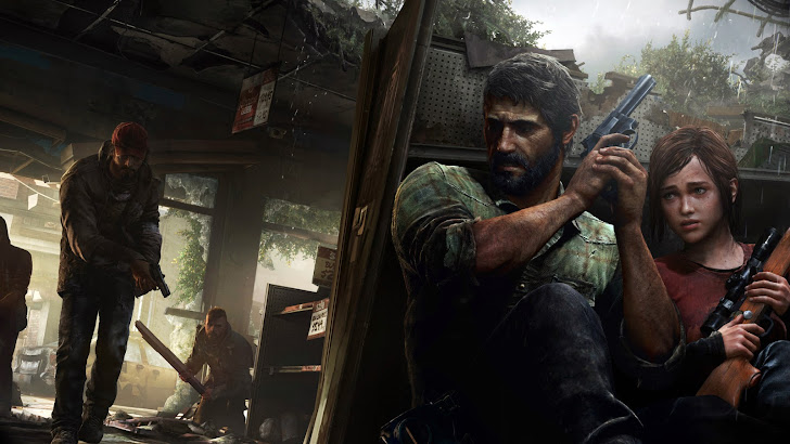 The Last of Us Game Joel Ellie