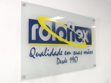 PLACAS DE PATRIMÔNIO COMERCIAL EM ACRÍLICO ADESIVADA  ROLOFEX SÃO PAULO-SP