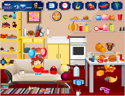 Thanksgiving - Hidden Objects flash game