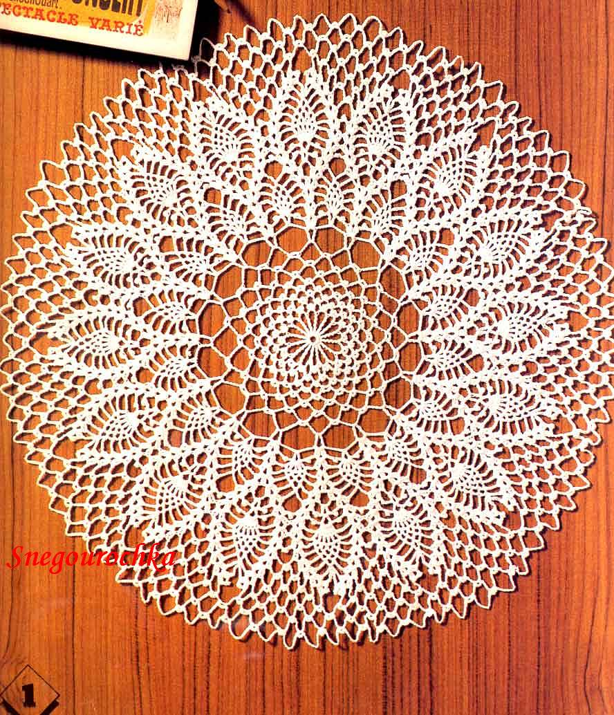 Free Japanese Crochet Doily Patterns : Crochet Pineapple Patterns Free ~ Free Crochet Patterns