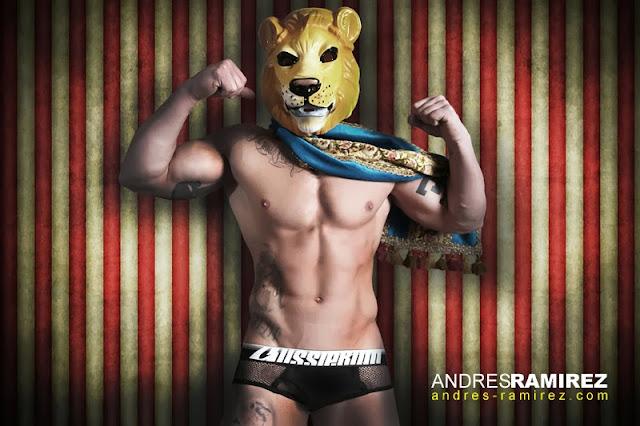 Sexy model Esteban Martinez in aussieBum underwear