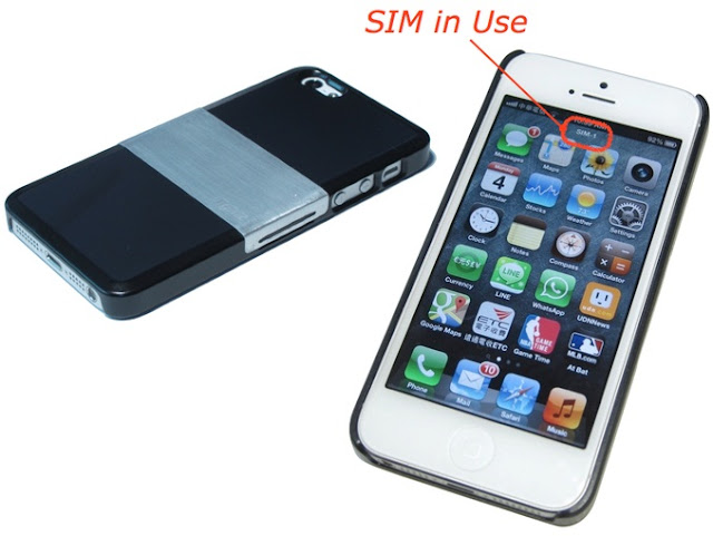 iphone 5 with dual sim bok face. Black Bedroom Furniture Sets. Home Design Ideas
