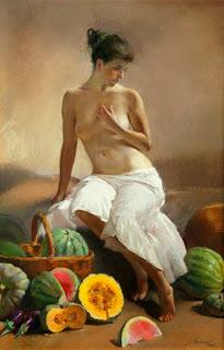 Bodegón con Desnudo al Óleo