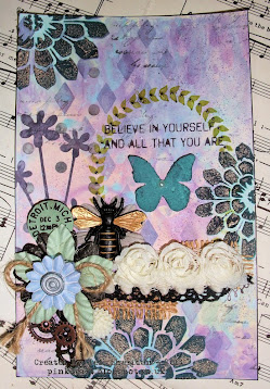 Sunday Stampers - Week 324 - Lavender's Blue