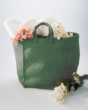 Plastic Bag Crochet - market bag - Utah State University