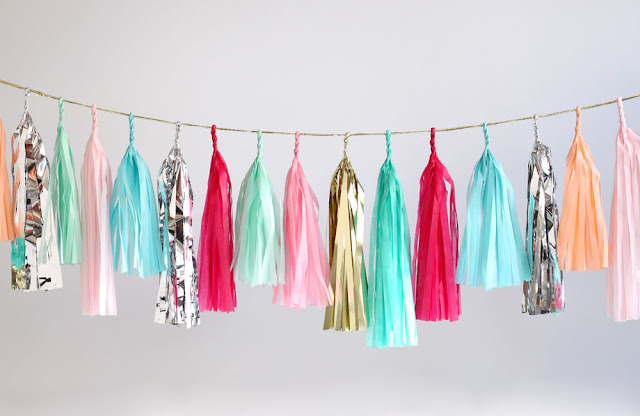 Tassel Garlands on Darling Cashmere