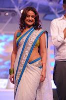 Bollywood and Tollywood acress Sonia agarwal hot at Southspin Awards Function Stills, sizzling in saree, bally show,
