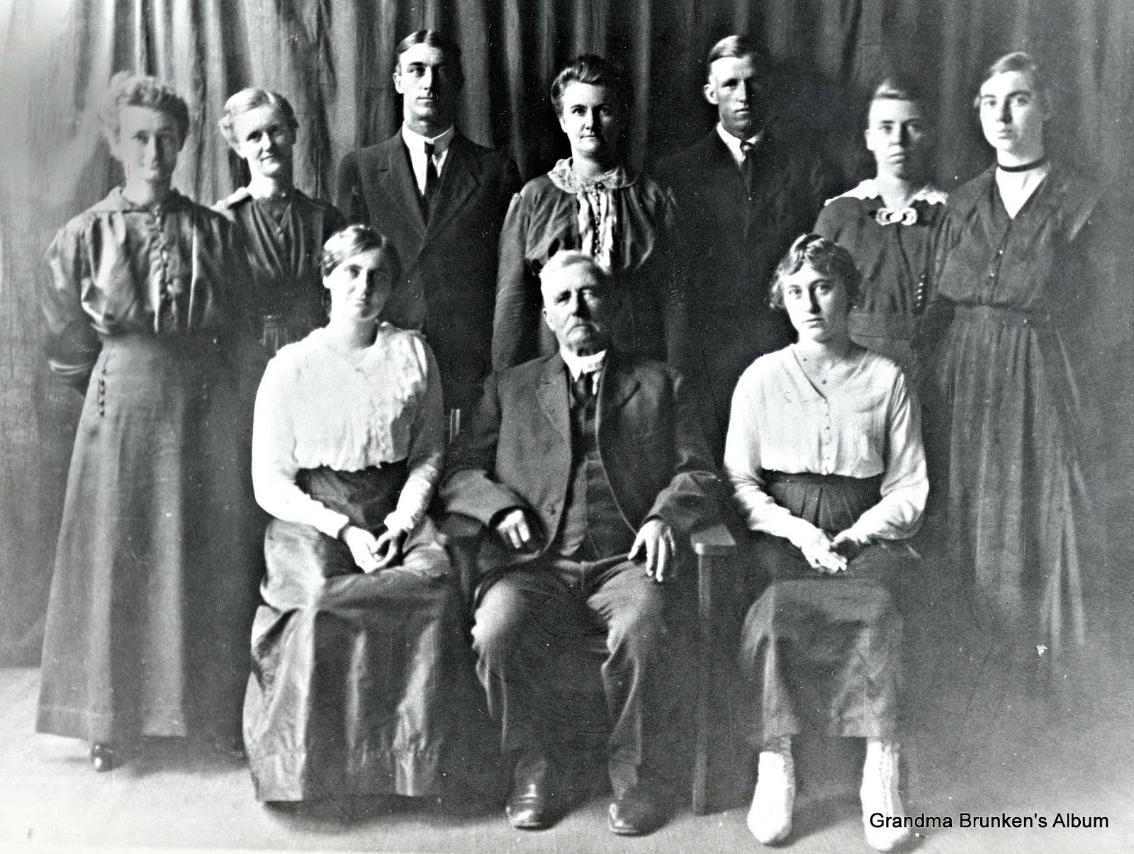 Carsten Petersen, Sr. Family - Circa 1918
