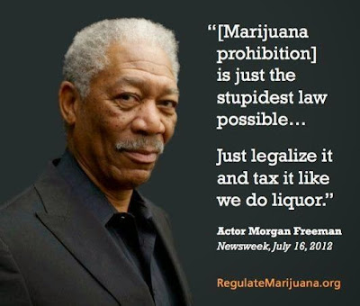 Morgan Freeman Support Marijuana Legaliization