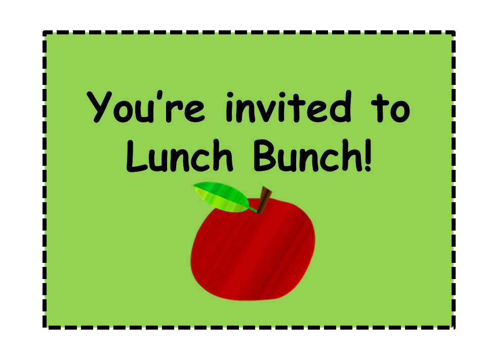 lunch treat invitation