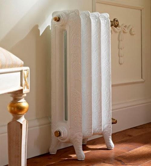 Marzua radiadores de fundici n pintados a todo color - Cortinas encima de radiadores ...