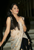 Anasuya sizzling photos in saree-thumbnail-12