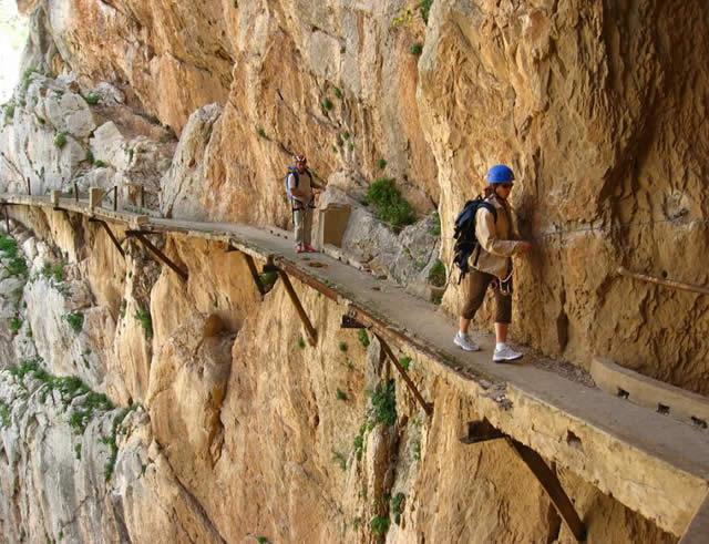 El Caminito del Rey, El Chorro, Spain