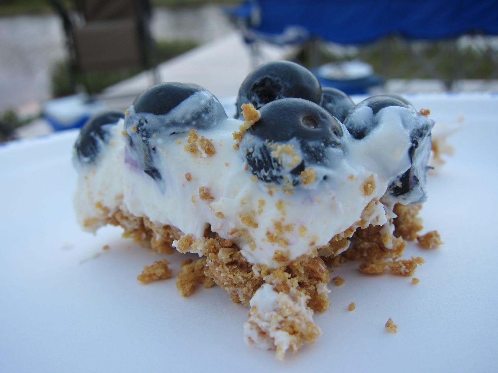 Food, Je t'Aimée: No-Bake Blueberry Cheesecake Squares