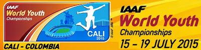 Mundial de atletismo de menores de la IAAF en Cali (Colombia, 15-19/jul/2015)