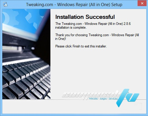Windows Repair 2.8 AIO Utilidad para Reparar Errores