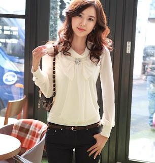 lindos modelos de blusas sociais femininas 06