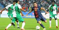 Messi Memukau Pemain Muda Barca
