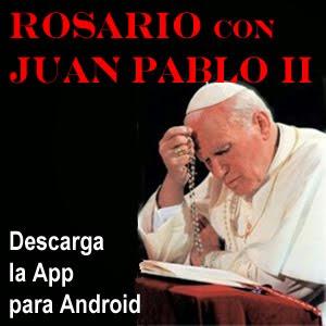 App Rosario con Juan Pablo II