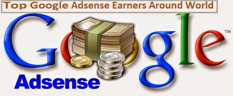 Google Adsense Earners in World