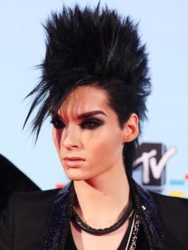 Bill Kaulitz Hairstyles
