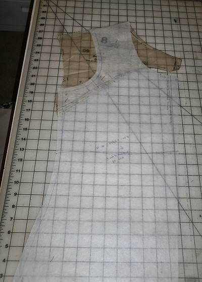So, I promised pics and tips on how I created my pattern