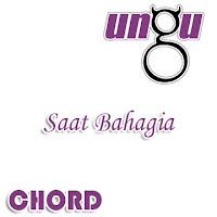Lirik dan Chord(Kunci Gitar) Ungu ~ Saat Bahagia