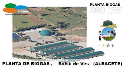 Inderen empresas instaladores planta de biogas en albacete BALSA DE VES