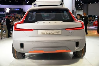 Volvo Concept XC Coupe backview
