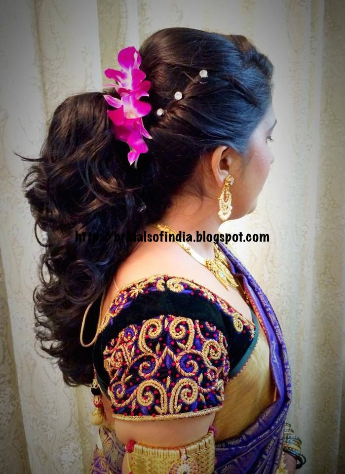 Back > Gallery For > South Indian Bridal Hairstyles For Reception