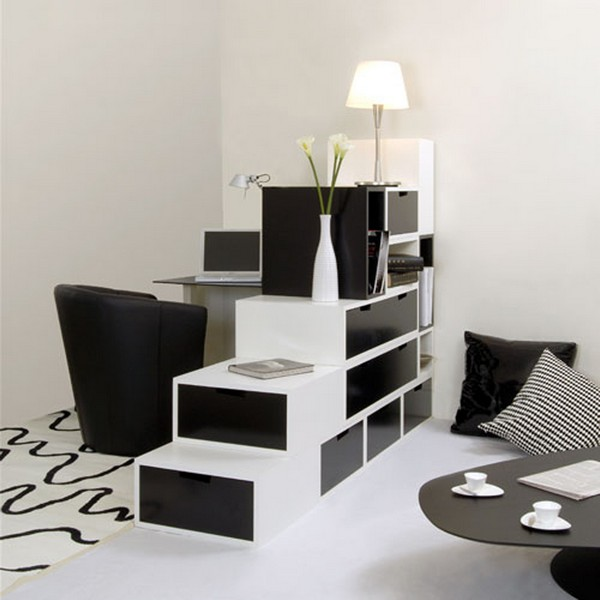 Black and white contemporary interiors design ideas home for Modern black and white house decor