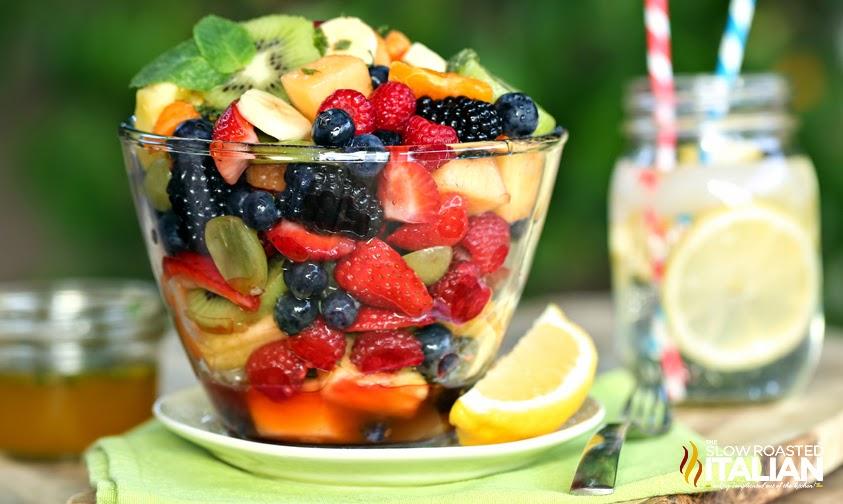 ... Roasted Italian - Printable Recipes: Orange Honey Rainbow Fruit Salad