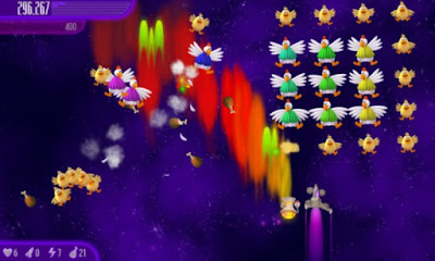 Chicken Invaders 4 Gameplay Game