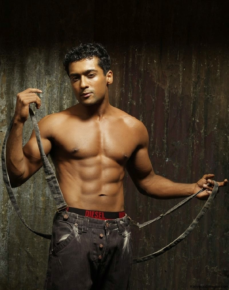 SURYA BODY BUILDING SIX PACK NEW IMAGES   hot hd wallpaper girls