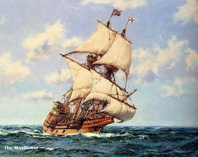 Us Timeline 1620 The Mayflower Pilgrims