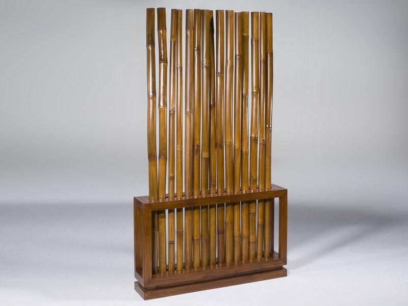 Cortinas De Baño Aki:Si conseguimos cañas de bambú, podemos colocar las cañas de manera