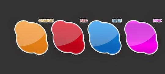 """Pake 4 Stickers """"FULLPSD"""""""
