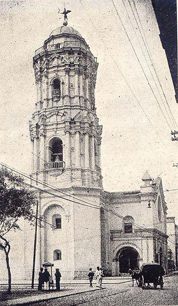Iglesia de Santo Domingo en Lima, donde se encuentran los restos mortales de Santa Rosa de Lima.