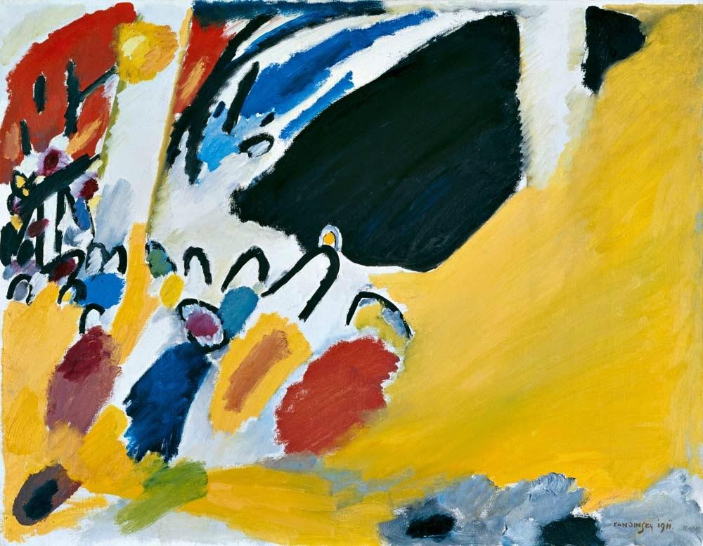Vassily Kandinsky, Impresión III (Concierto) (1911), Städtische Galerie im Lenbachhaus, Munich