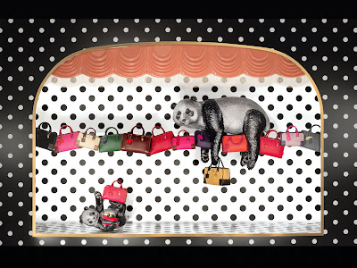 Of Pandas and Elephants: Loewe's Brilliant Windows for Christmas!