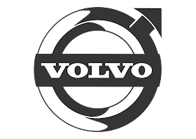 download Logo Volvo (Design Black White) Vector