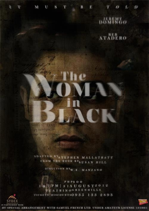 Enter to Win Tickets to THE WOMAN IN BLACK at Teatrino on 8/31