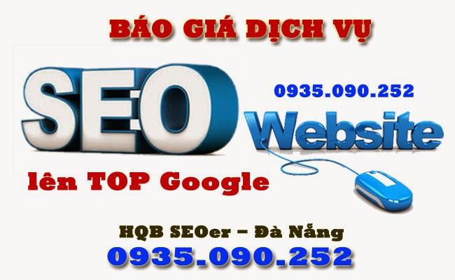 Báo giá Dịch vụ SEO website lên Top Google tại Đà Nẵng