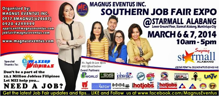 Magnus Eventus Starmall Alabang Job Fair