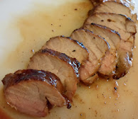 sesame grilled pork tenderloin