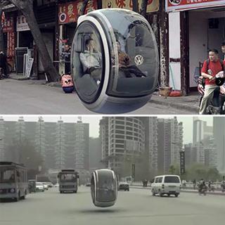 En China ya idearon el auto volador del futuro